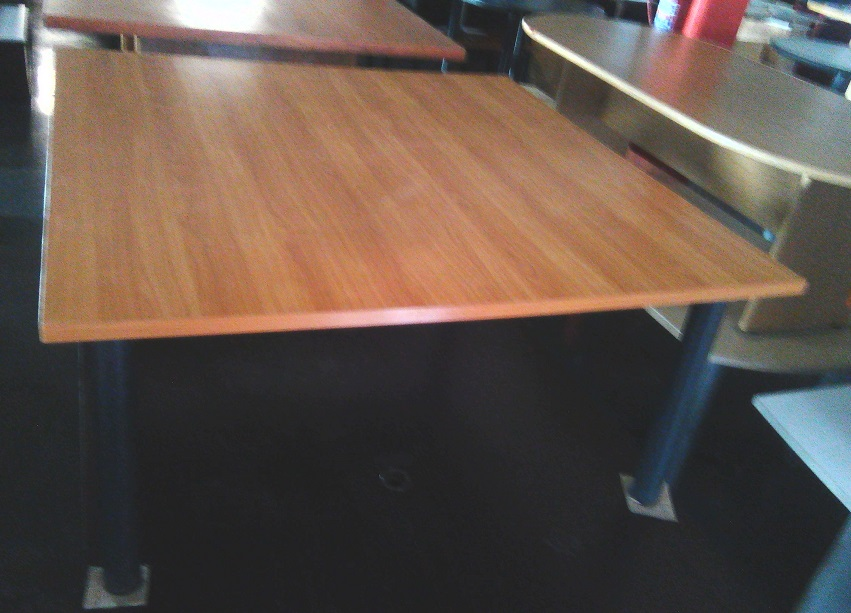 Boardroom table 8 seat cherry wood