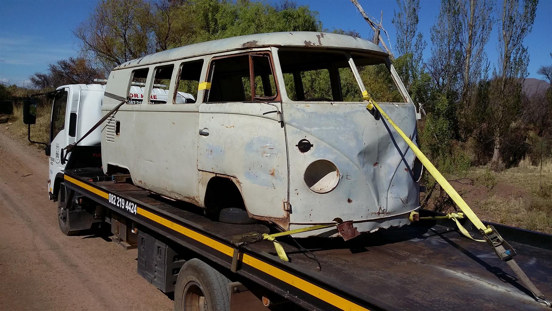 VW Classic Car Transport PTA to Bloem.