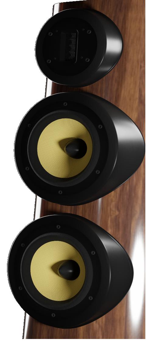 GRYPHLAR FR65-90 LOUDSPEAKERS BLACK FINISH