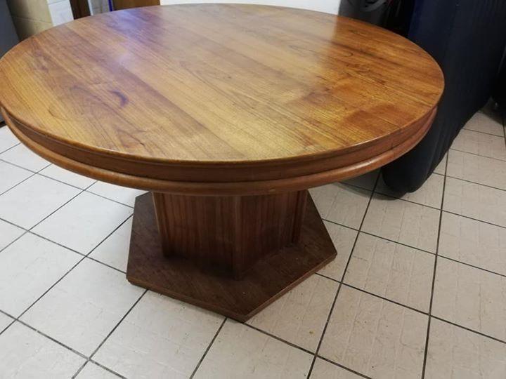 Ronde Houte Tafel : Ronde hout tafel tekoop junk mail