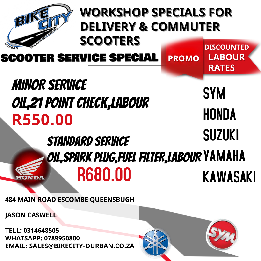 scooter service specials