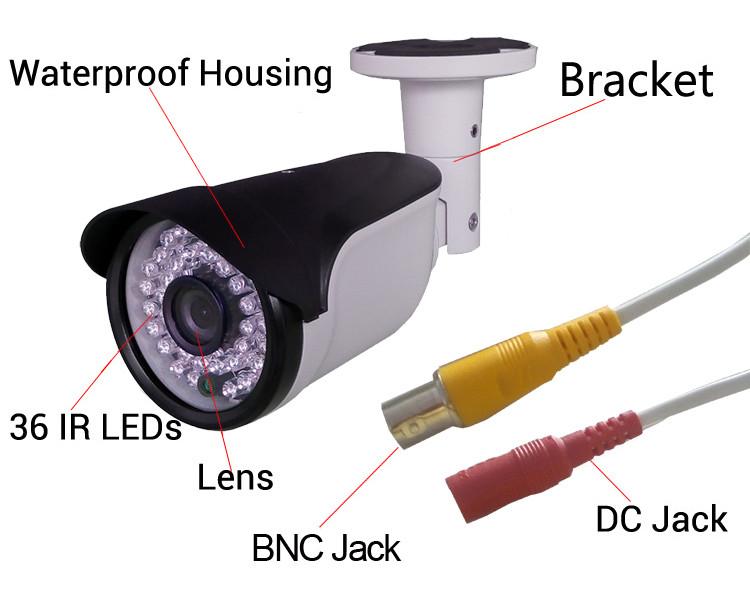 2mp XM Series 1080p CCTV Bullet Camera (4 in 1)