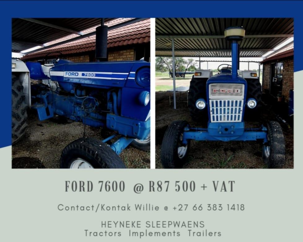 FORD 7600 TRACTOR / TREKKER