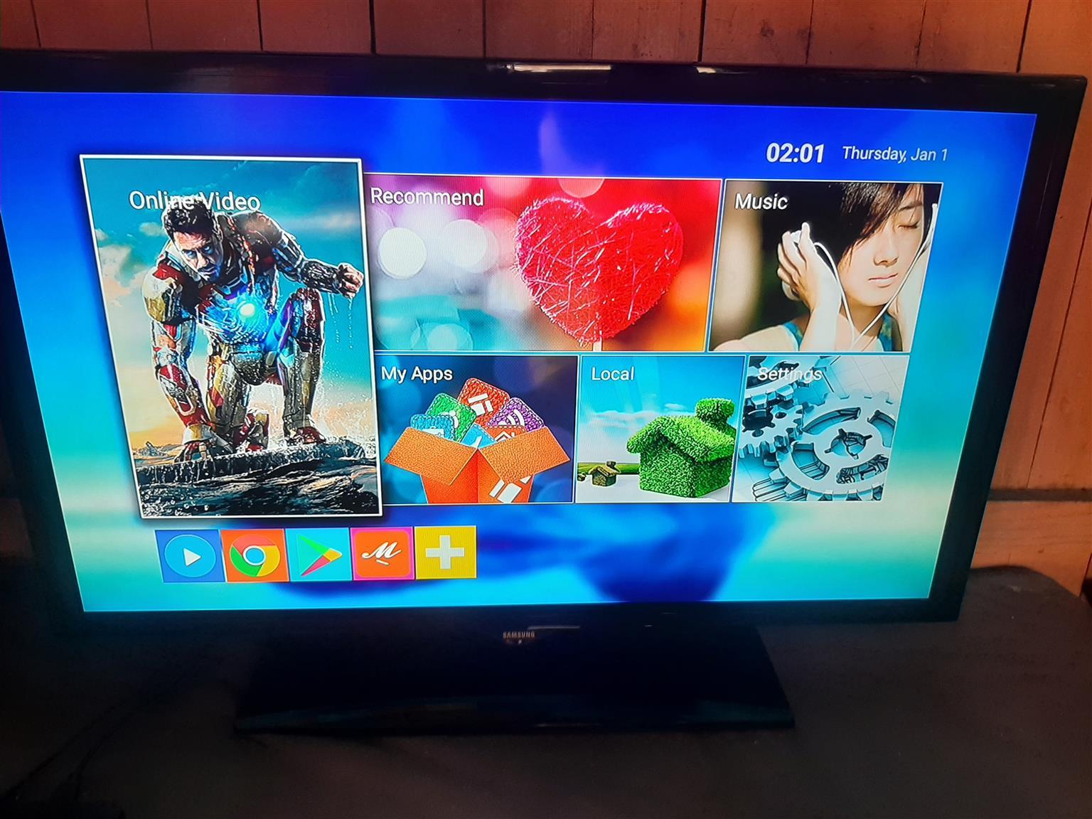 Samsung 40 inch led tv Ua40 F 5000