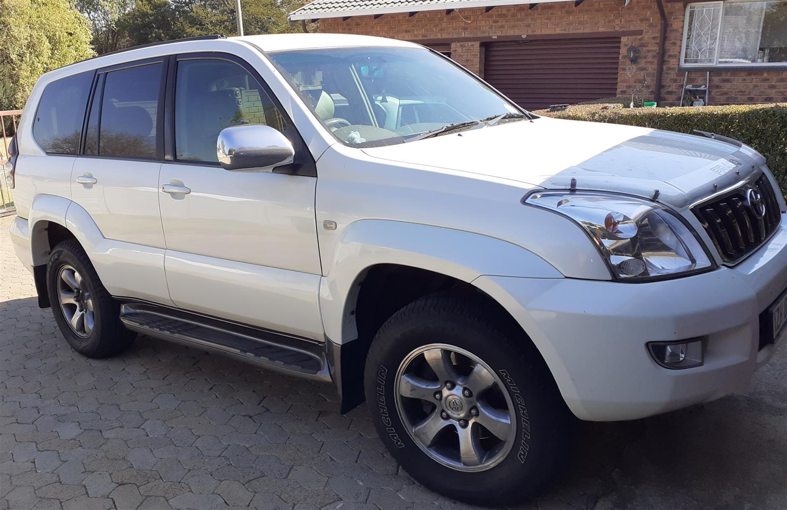 2007 Toyota Land Cruiser Prado 4.0 VX