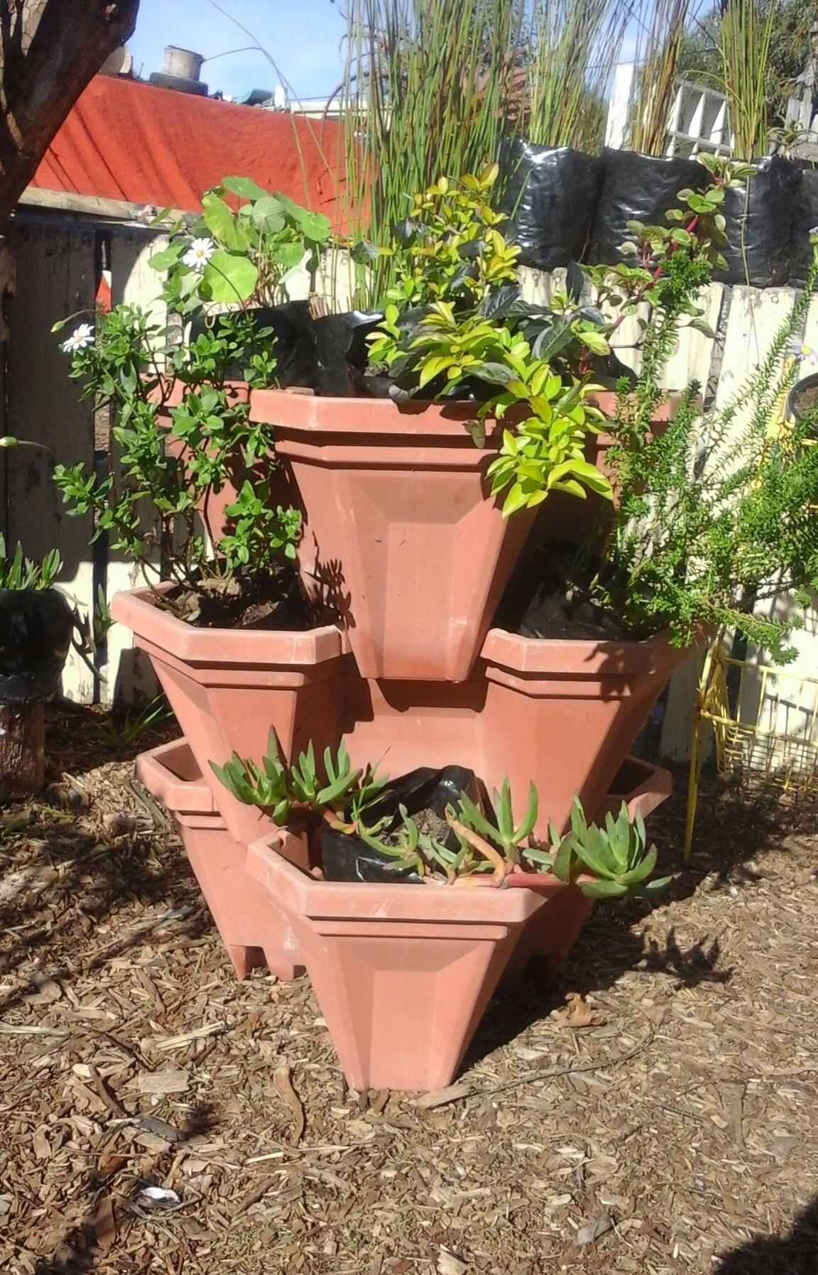 3 Tier Garden Pot