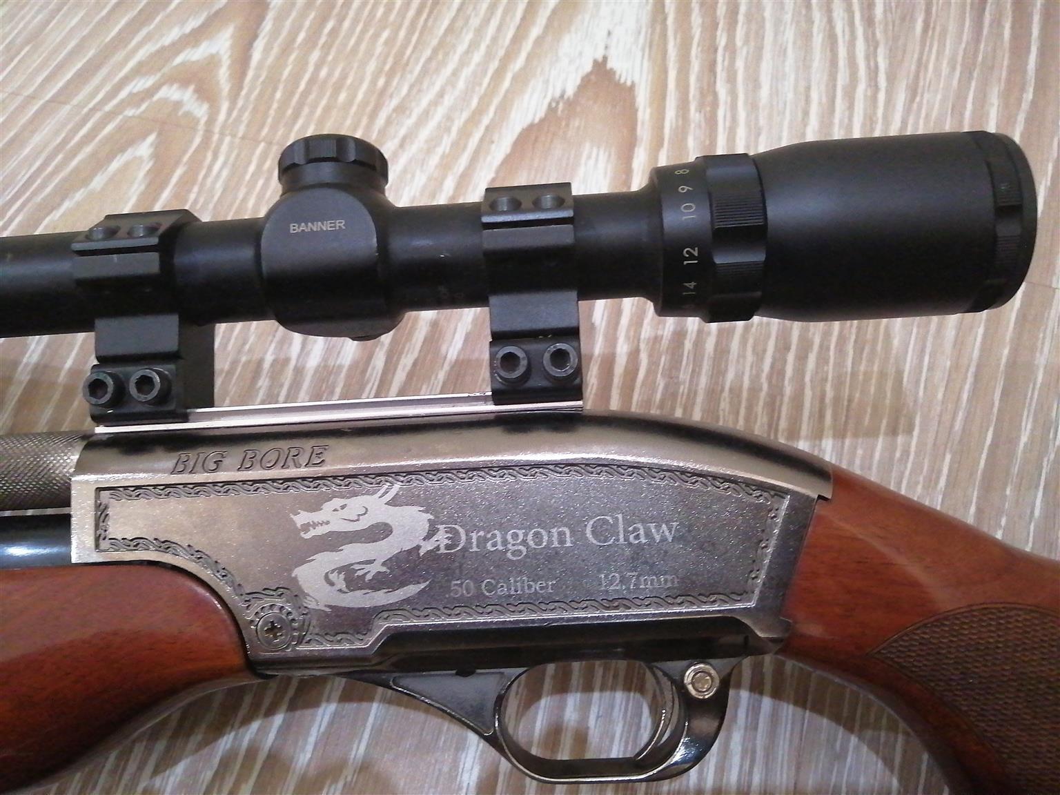 Pcp air rifle 50 cal