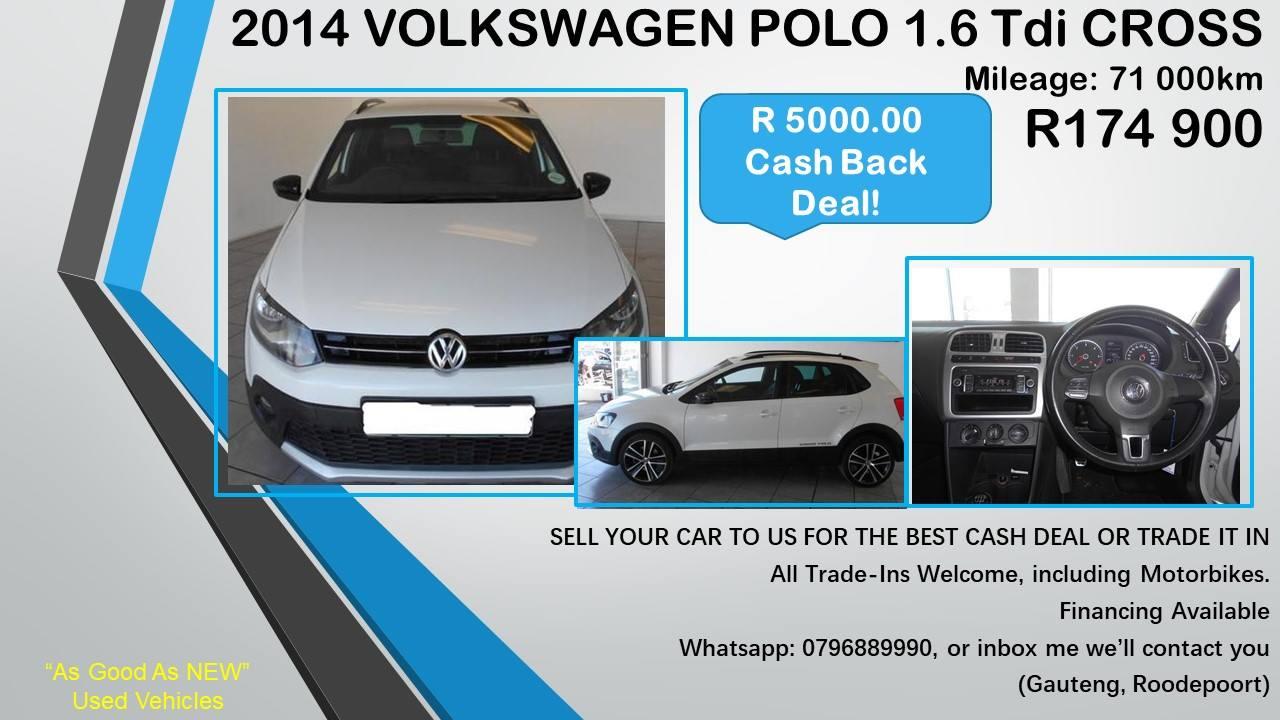 2012 VW Polo Vivo hatch 3-door FIORINO 1.4 F/C P/V