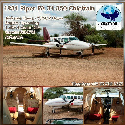 1981 PIPER PA31-350 CHIEFTAIN