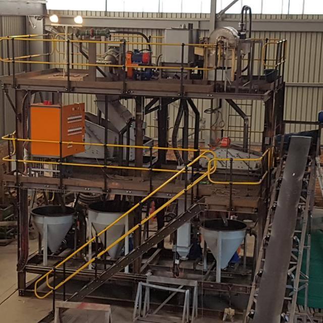 15 tph DMS Plant