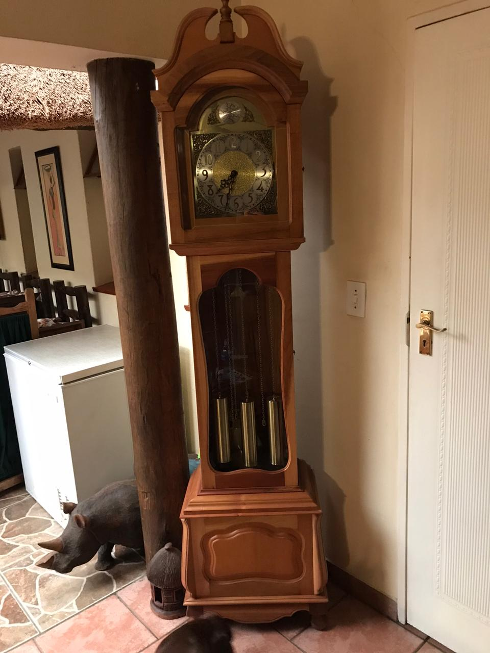 Cape Yellow Wood & Stinkwood Grandfather Clock