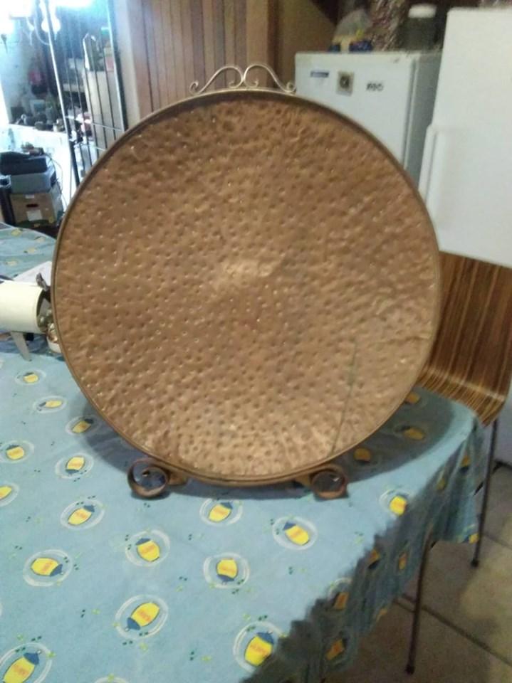 Circular decor plate for sale