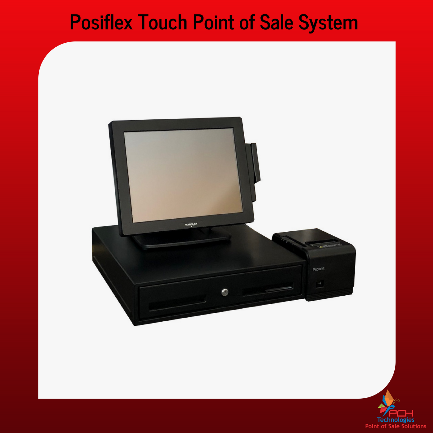 Posiflex Touch Screen Point of Sale System (Refurb)