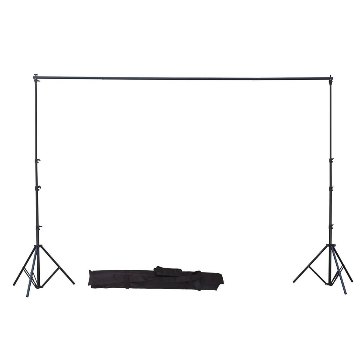 Greenscreen Setup for Videomakers - with Stands and Crossbar