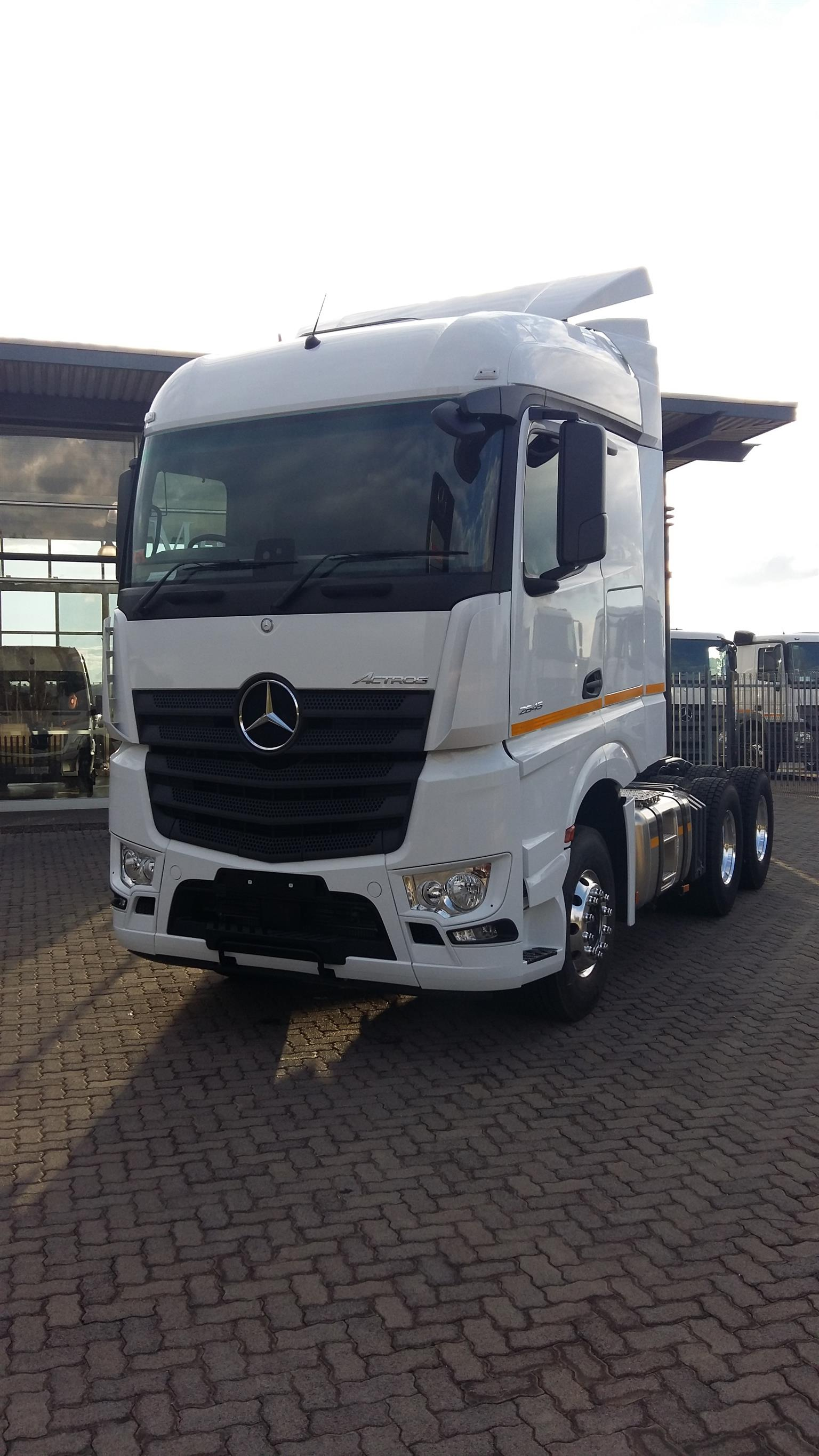 2018 The All New Mercedes Benz Actros 2645 Ls 33 Truck Tractor