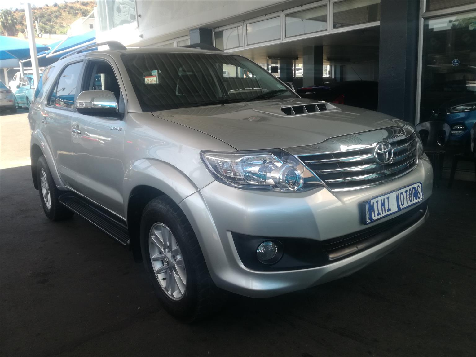 2014 Toyota Fortuner 3.0D 4D 4x4 Heritage Edition automatic