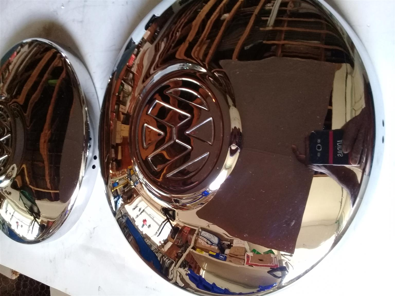 VW STEEL HUB CAPS