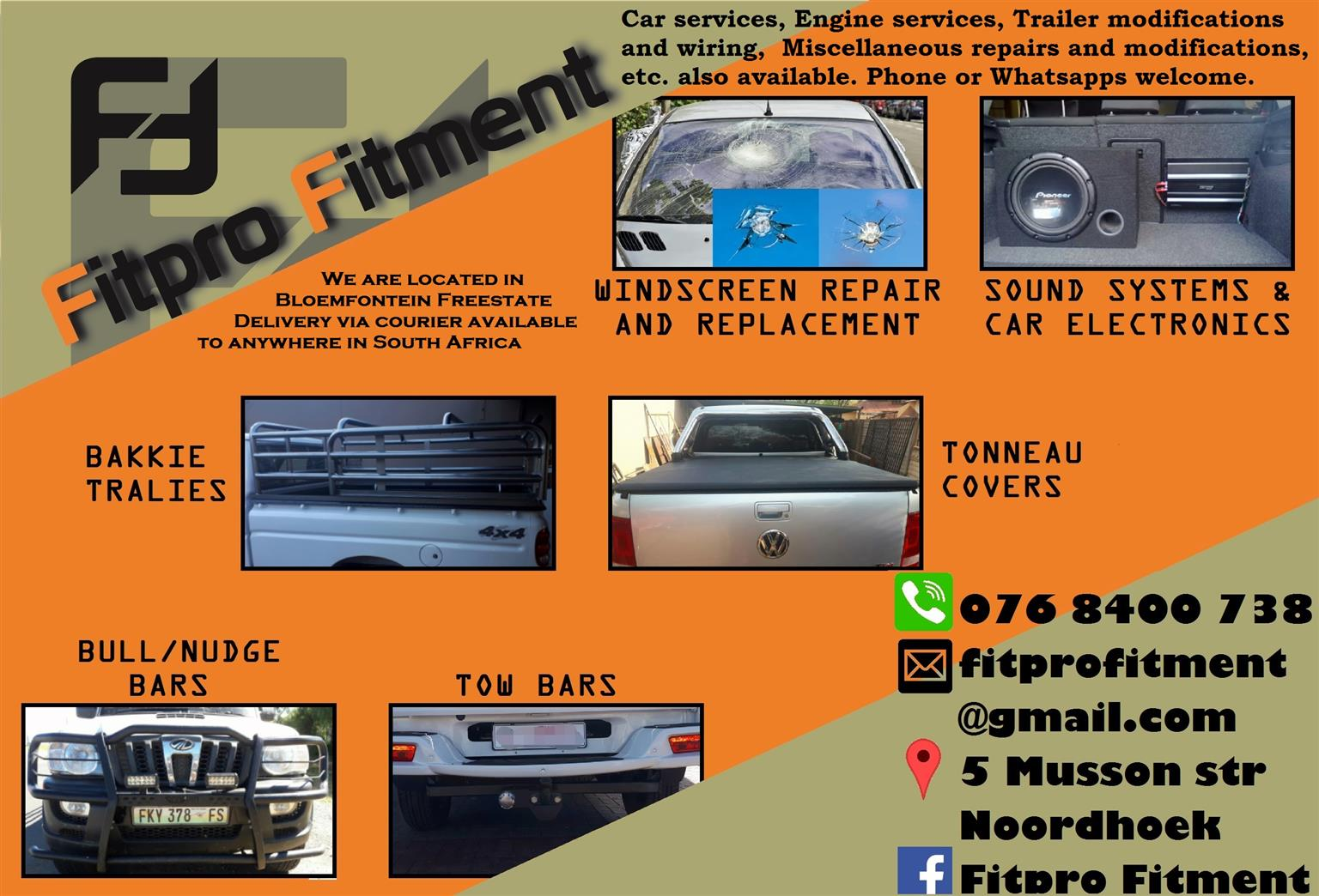 Fitpro Vehicle Accessories and repairs