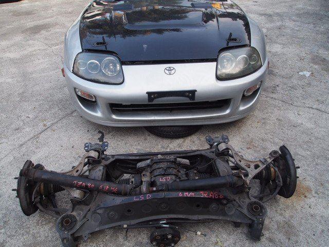 JDM Toyota Supra MK4 2JZ-GTE Engine JZA80 Twin Turbo LSD 6 Speed  Transmission Clip