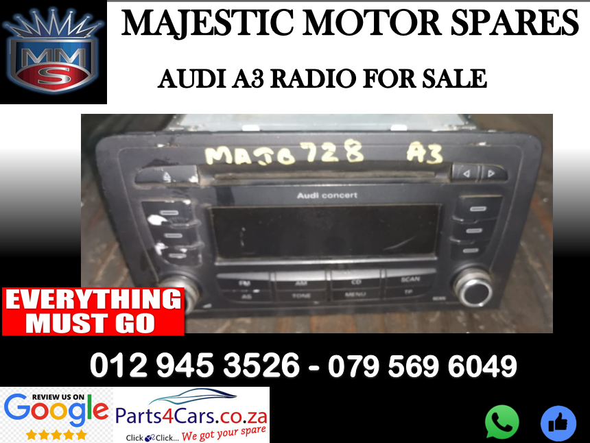 Audi A4 B8 radio for sale