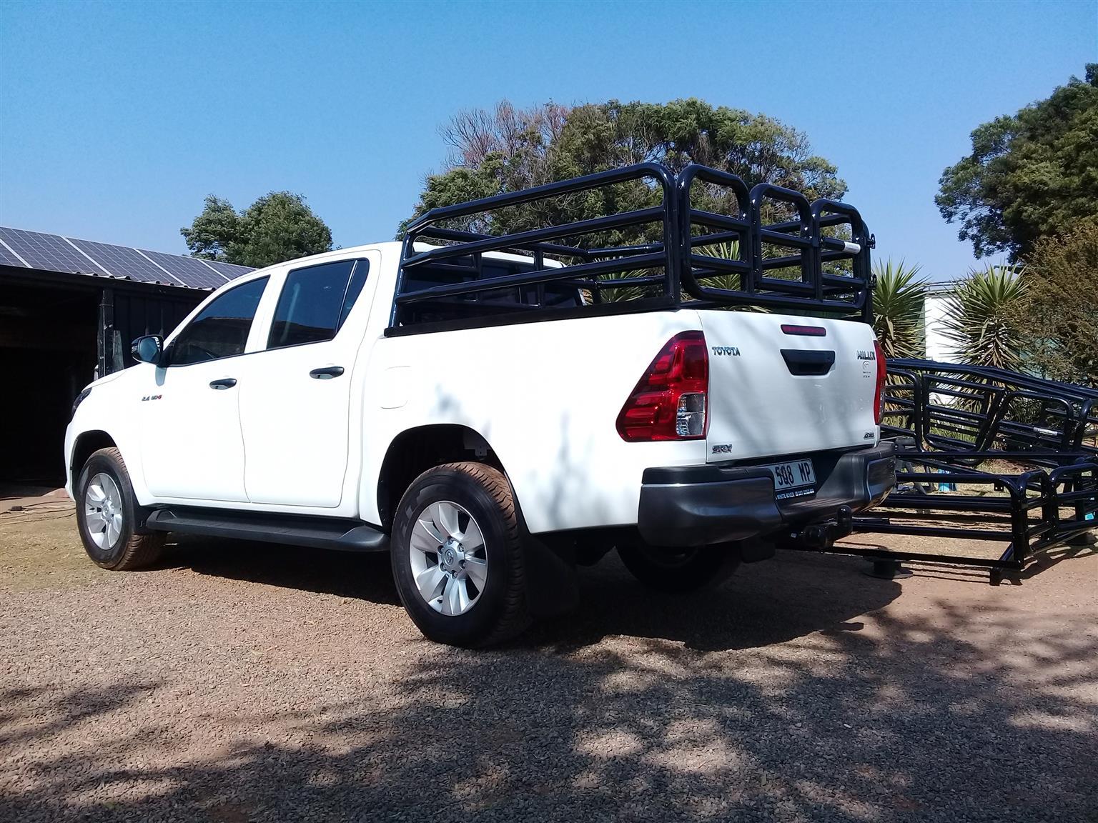 2021 farm vehicle cattle railings