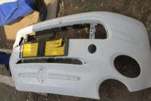 2014 FIAT 500 FRONT BUMPER – USED(CR)