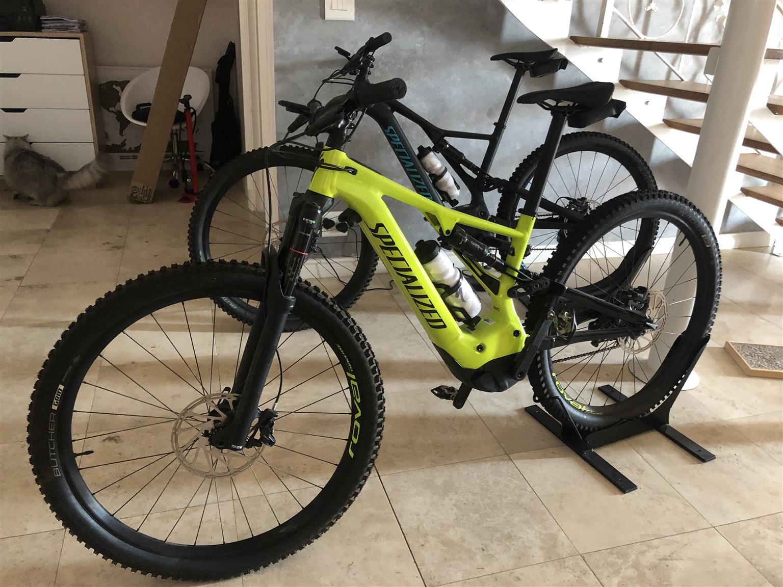 Specialized Turbo Levo 2019 & Thule bike carrier rack