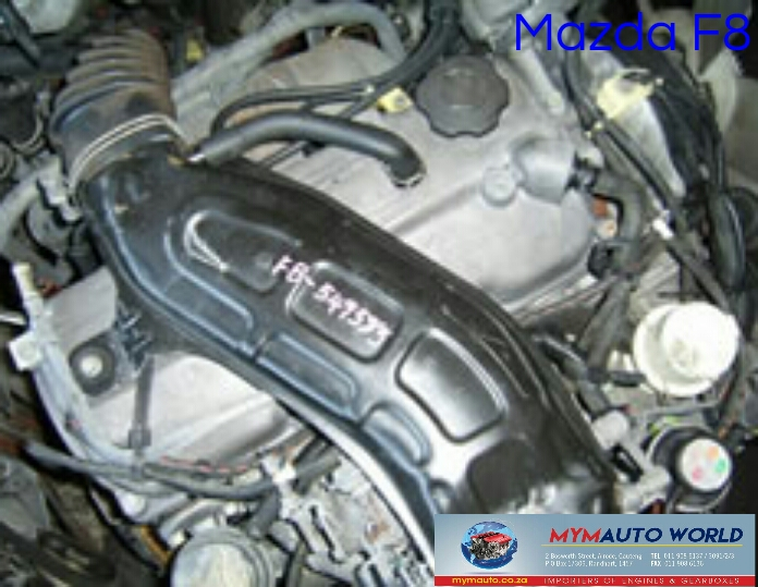 Imported used MAZDA F8 FWD CARB engine Complete