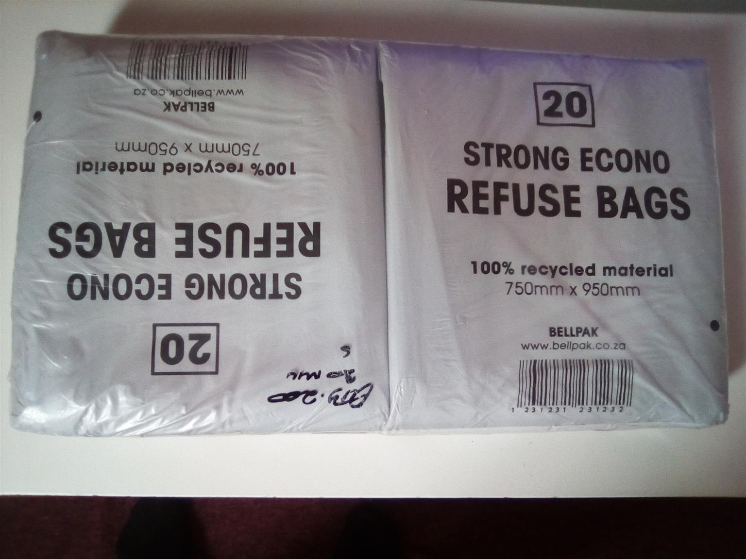 Black refuse bags and Packaging plastics