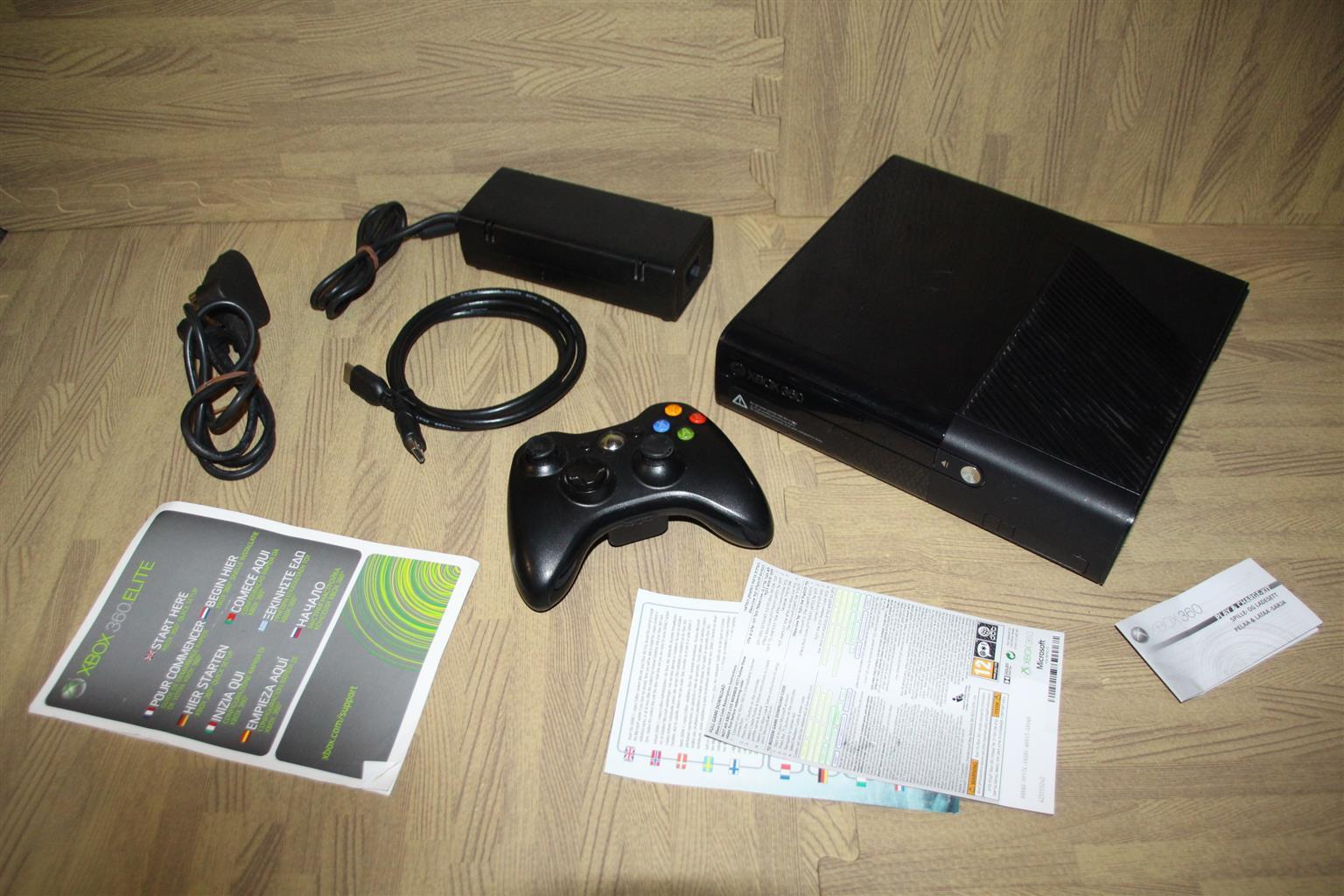 Xbox 360 super slim elite console