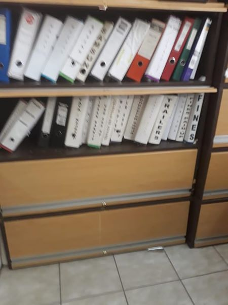 Wooden filing cabinet for sale