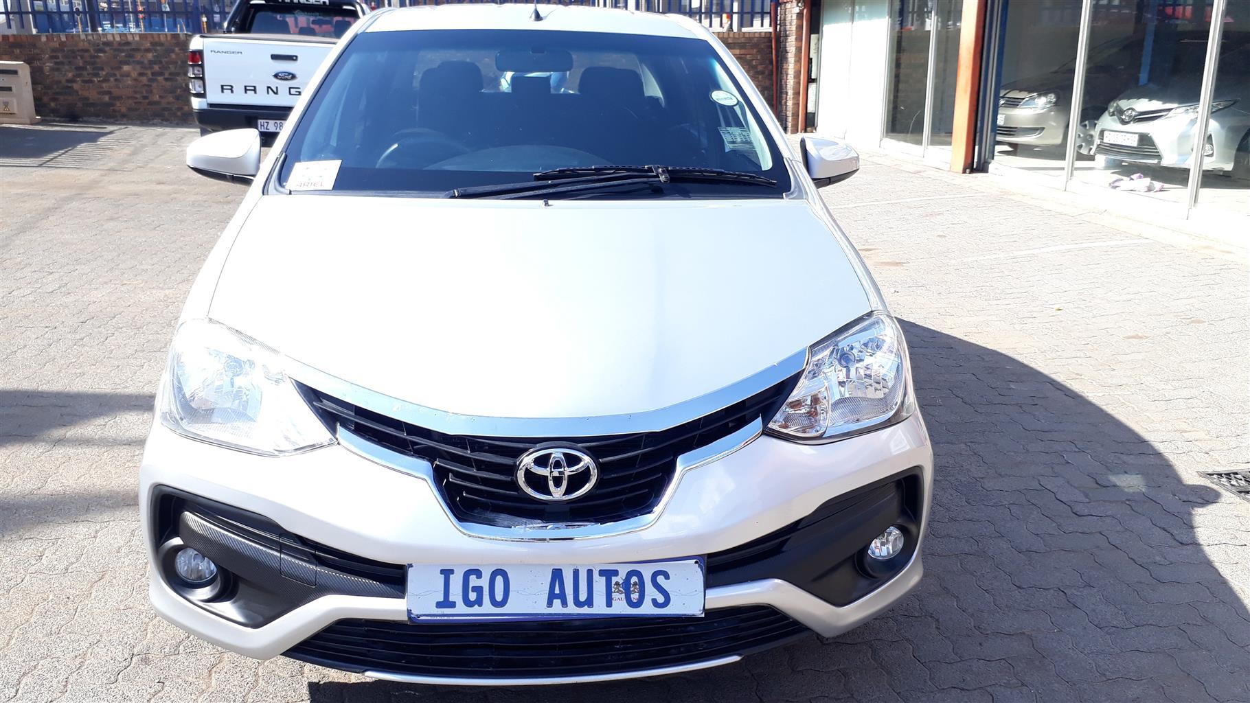 2017 Toyota Etios sedan ETIOS 1.5 Xs/SPRINT | Junk Mail