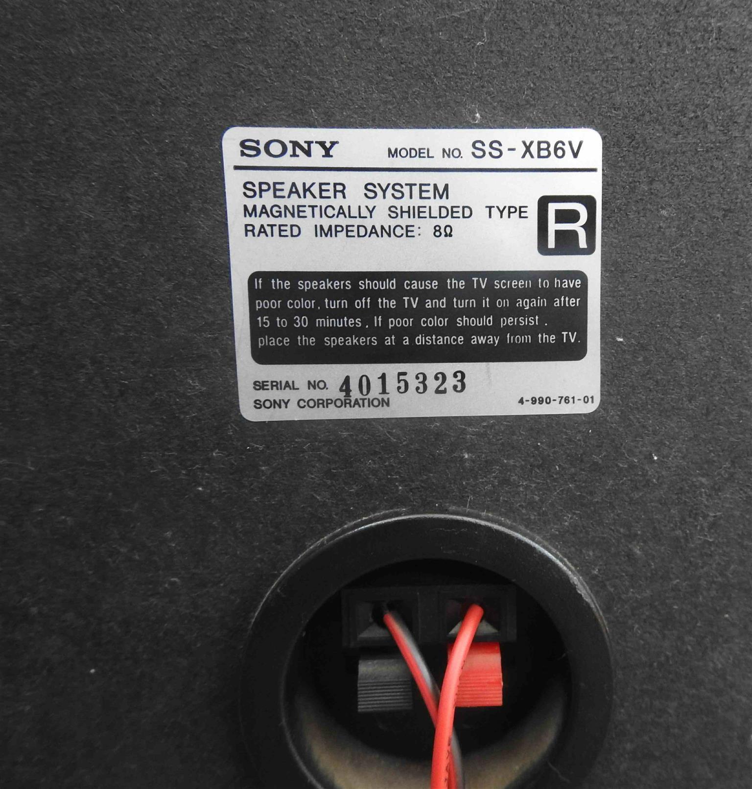 Sony HiFi speaker set used