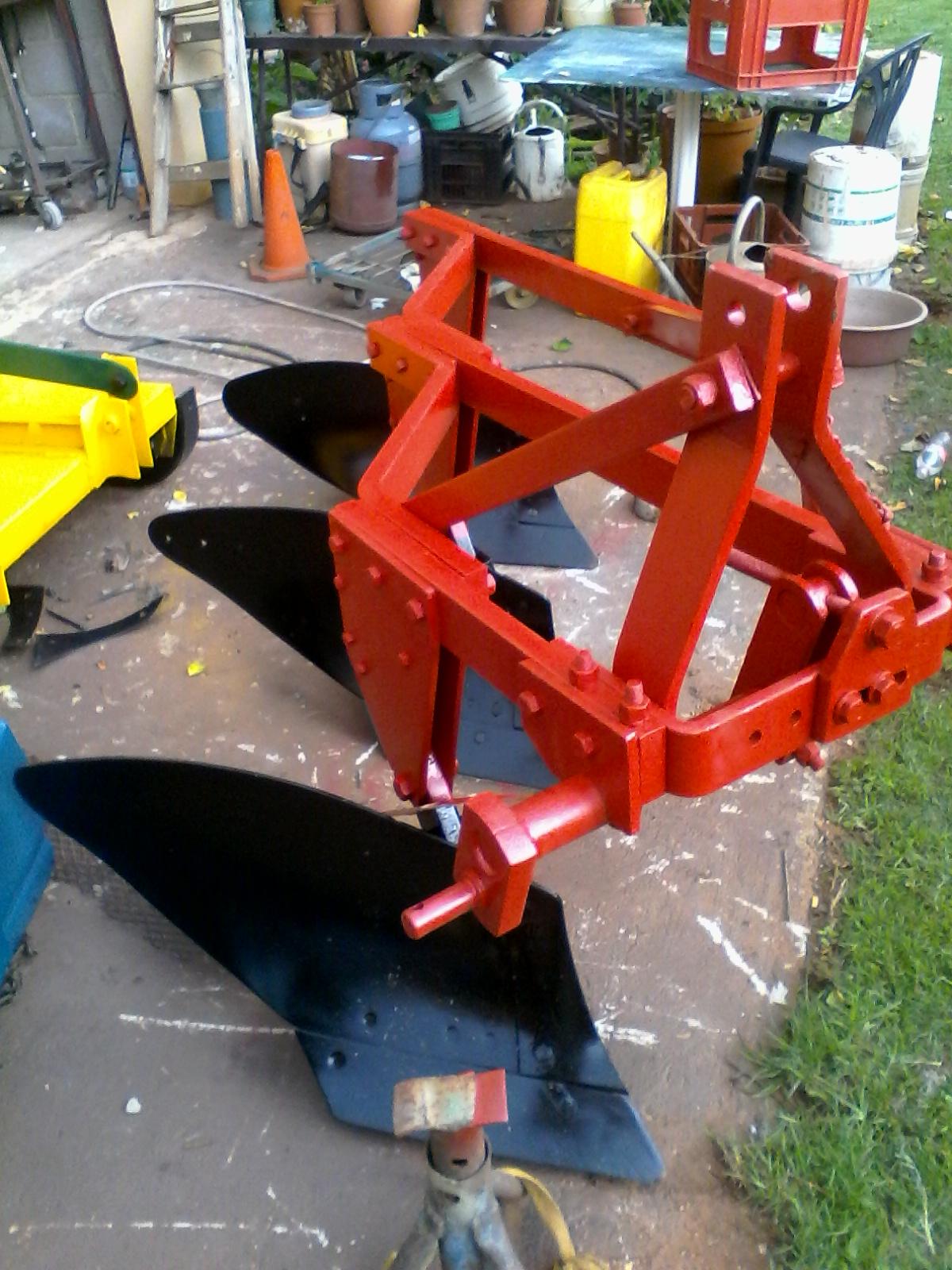 3 shear plough