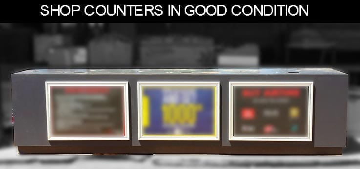 Shop counters for sale