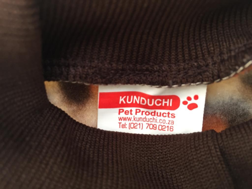 Kunduchi Pet/Dog jerseys - just in time for Winter!