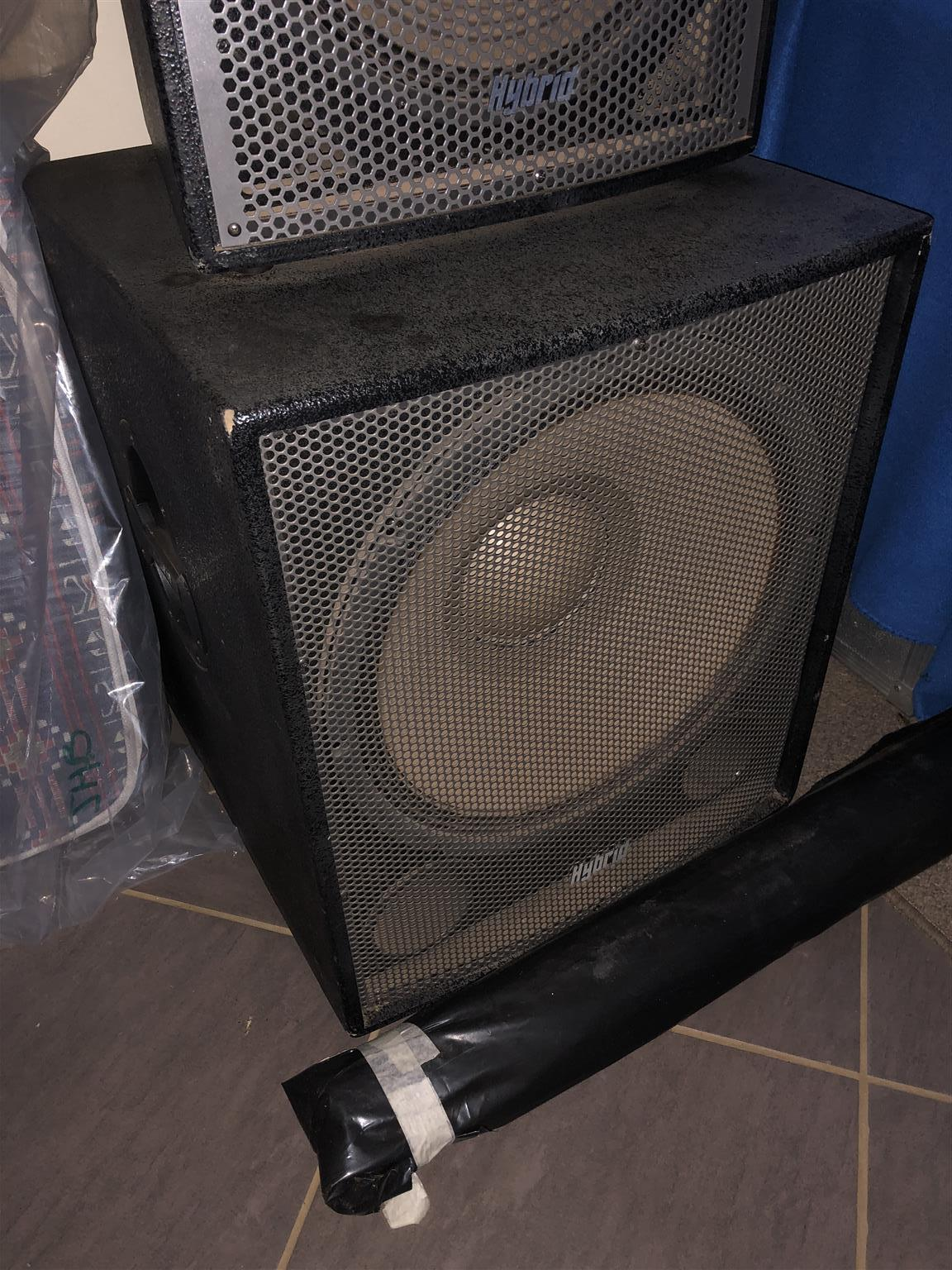 Sound System speakers