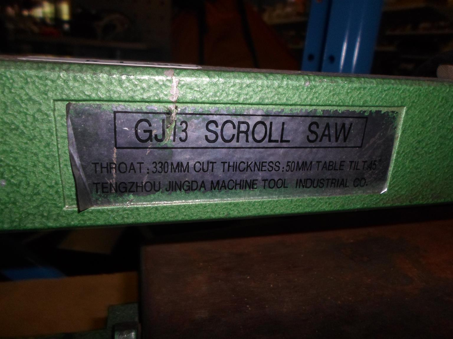 GJ 13 Scroll Saw
