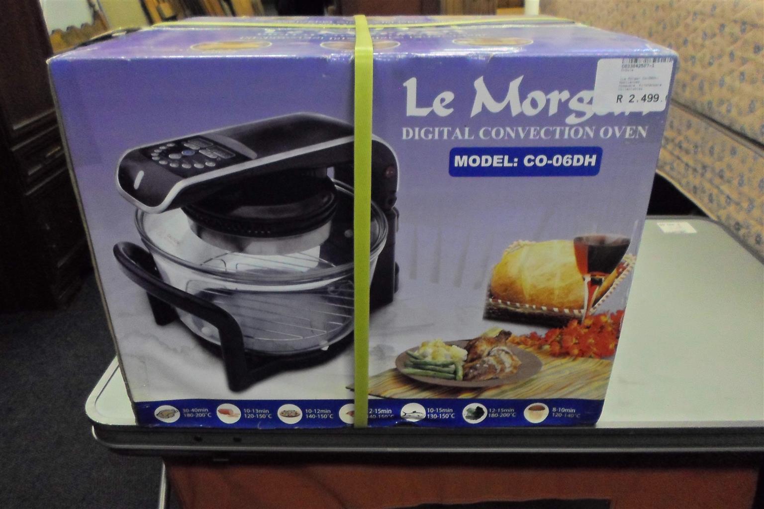 Le Morgan CO-06DH Digital Conviction Oven - C033042507-1