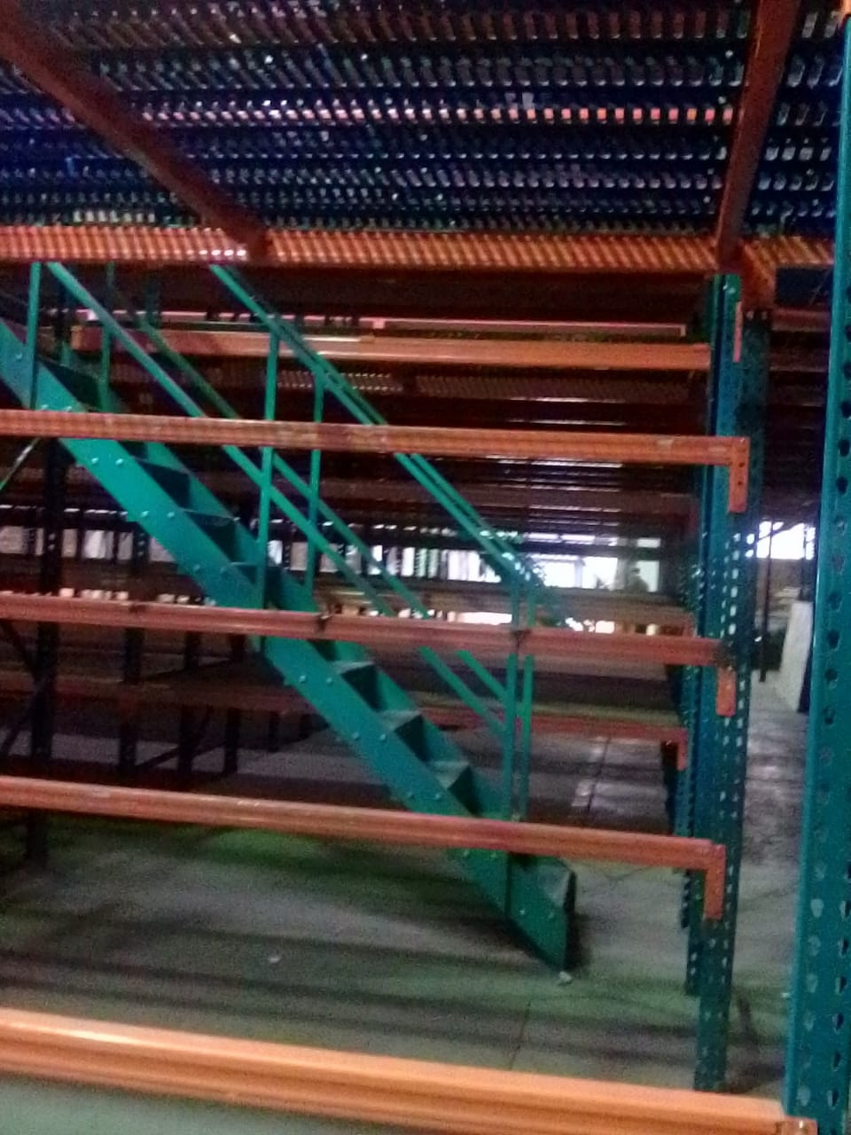 new & second hand industrial racking
