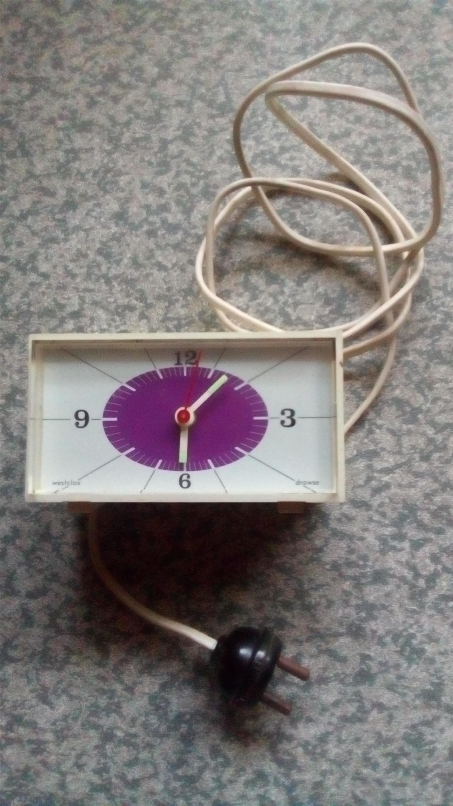 Electronic clock and alarm