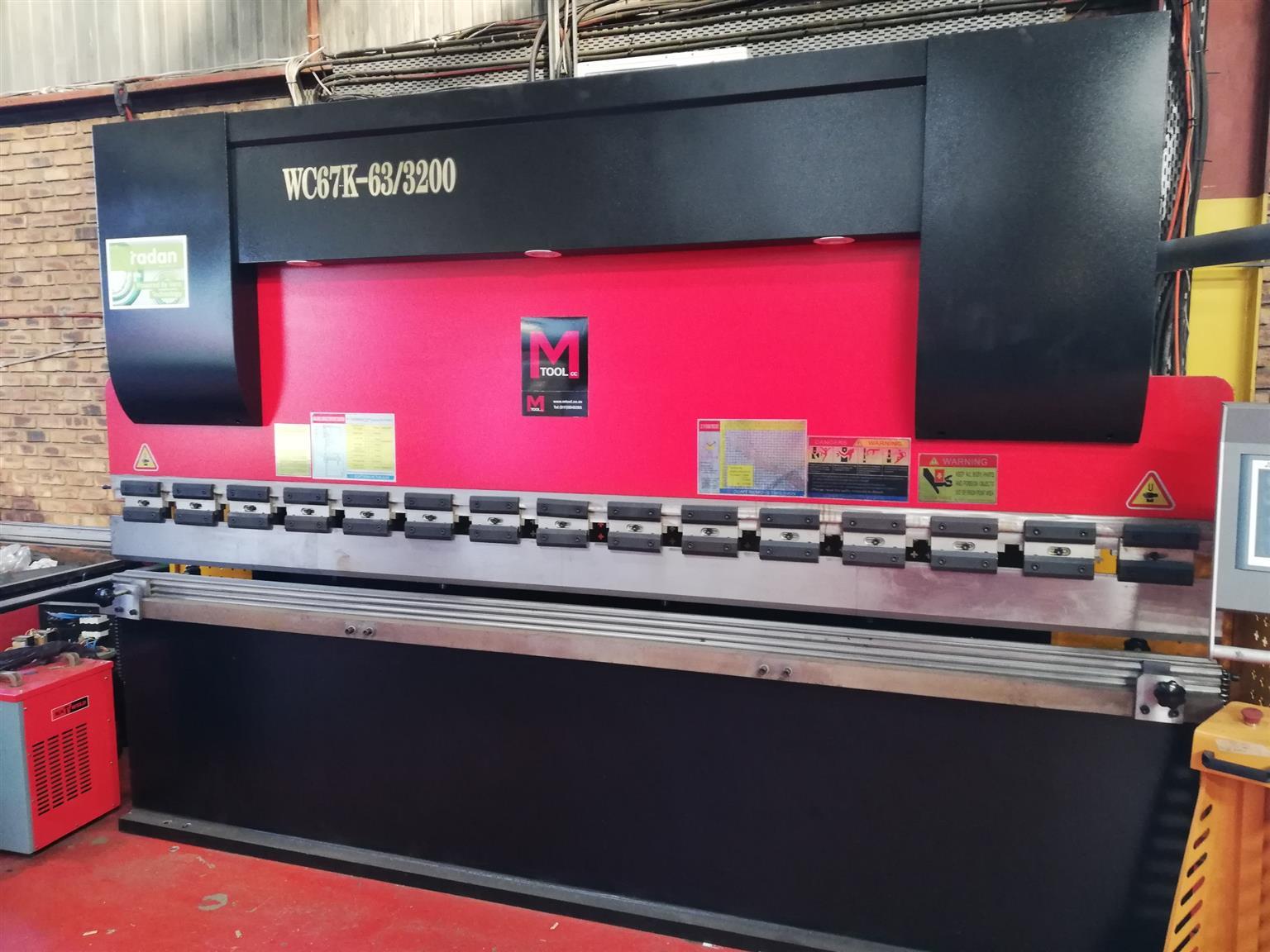 New Hydraulic press brake WC67Y-63/3200