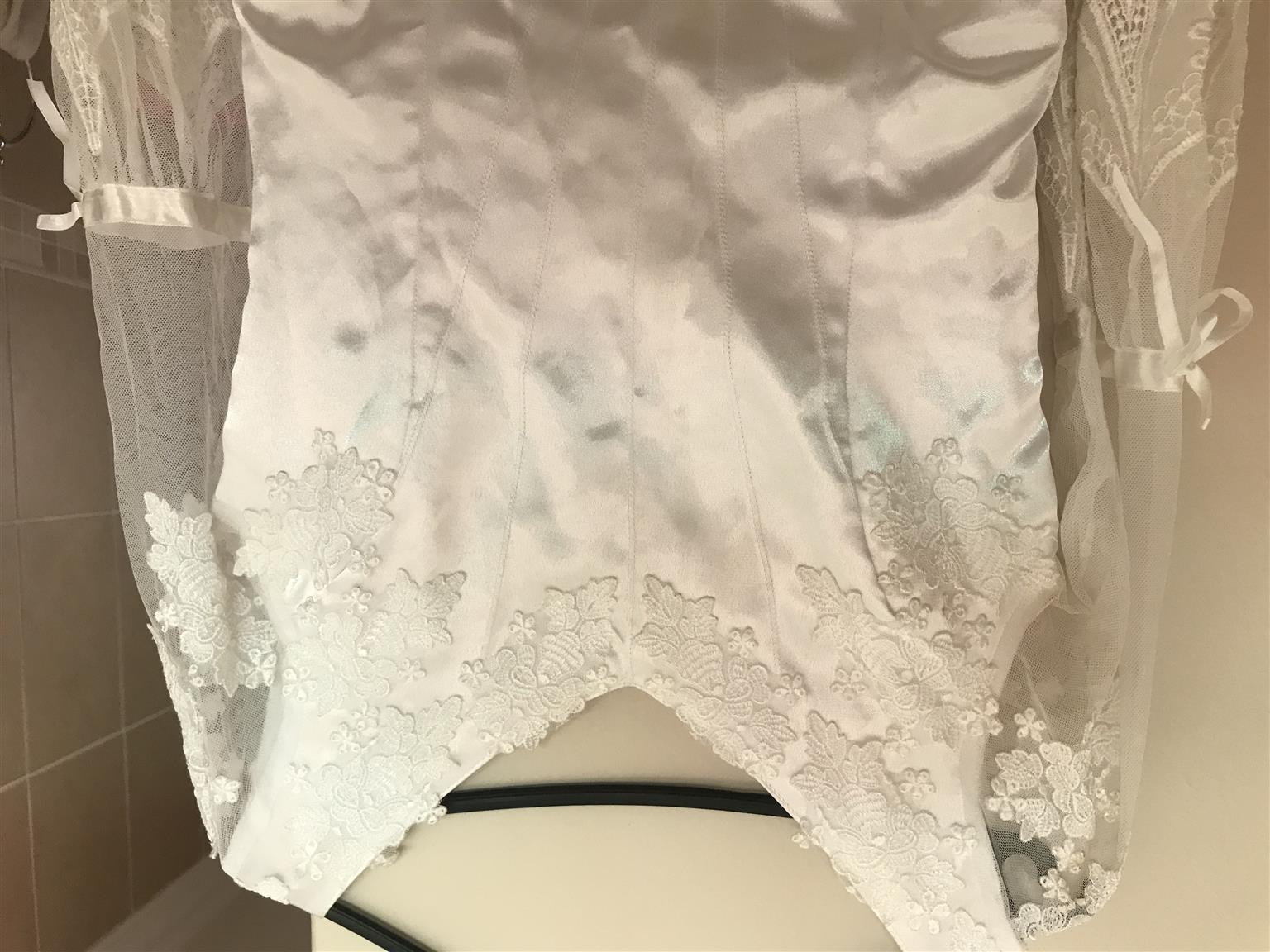Beautiful Wedding Dress with Puff Petticoat.