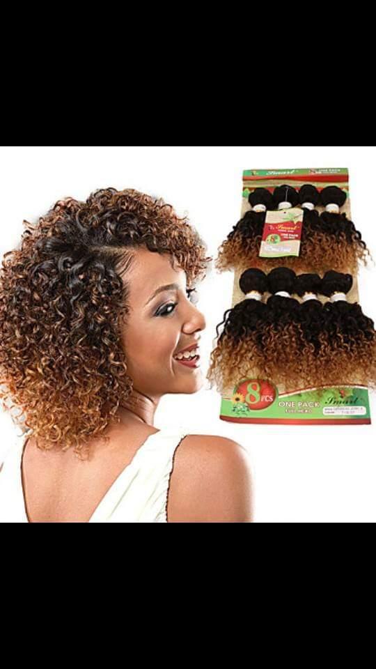 Brazilian Jerry Curl hair weave