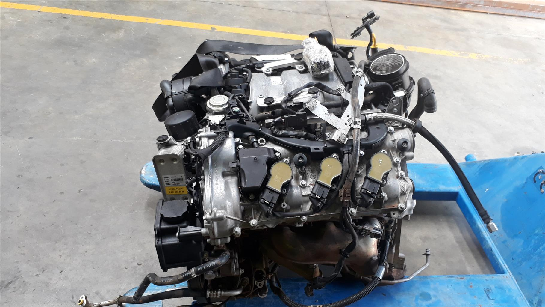 MERCEDES 272 ENGINE V6 FOR SALE