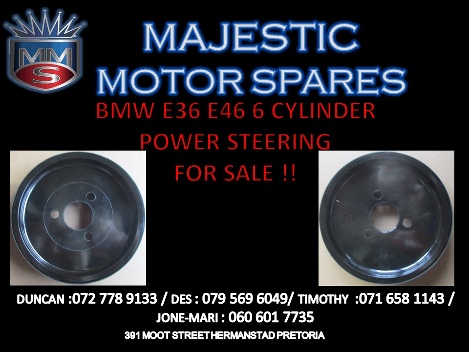 BMW E36 E46 6 CYLINDER POWER STEERING MECHANISM FOR SALE !