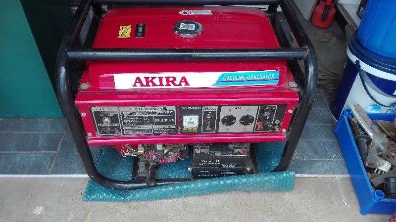 AKIRA GENERATOR 6500 FOR SALE