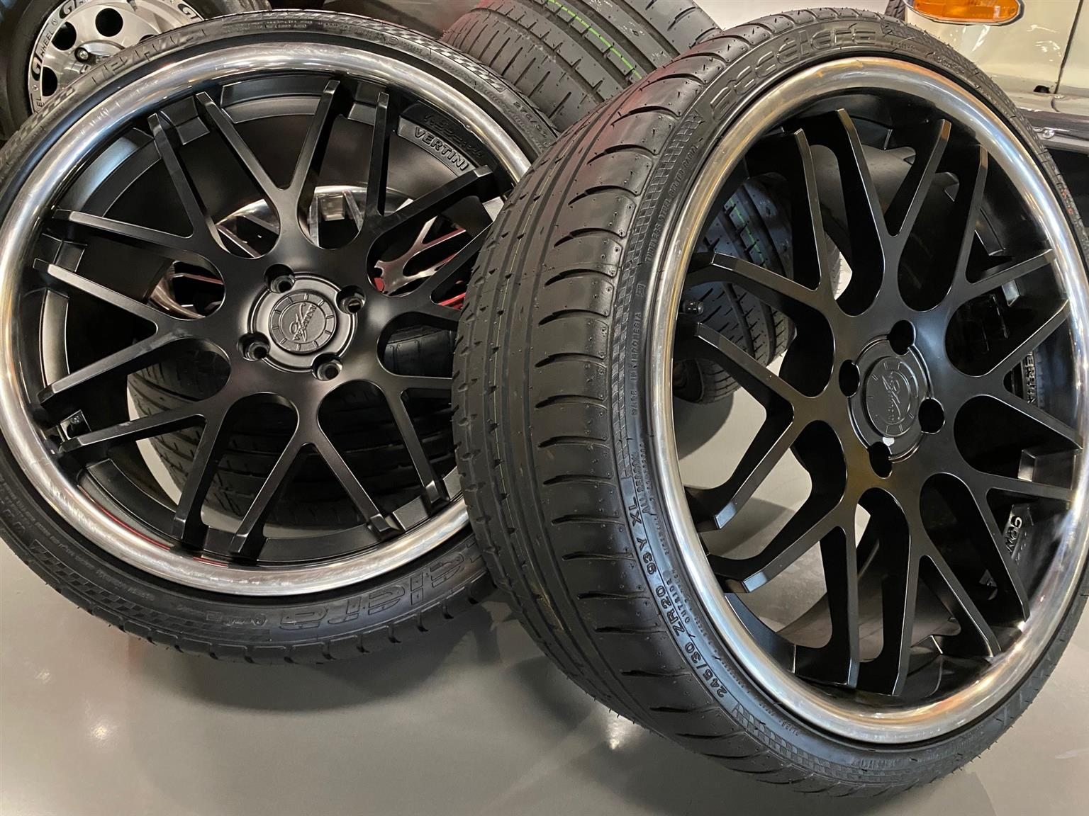 20 Inch Vertini Rims with Tyres