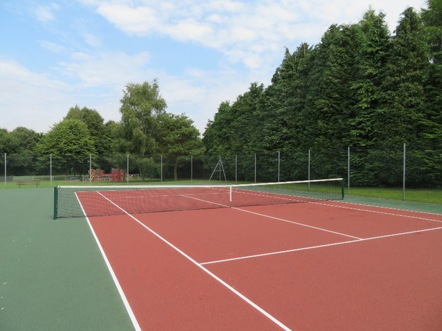 Reconstruction and resurfacing of Tennis courts