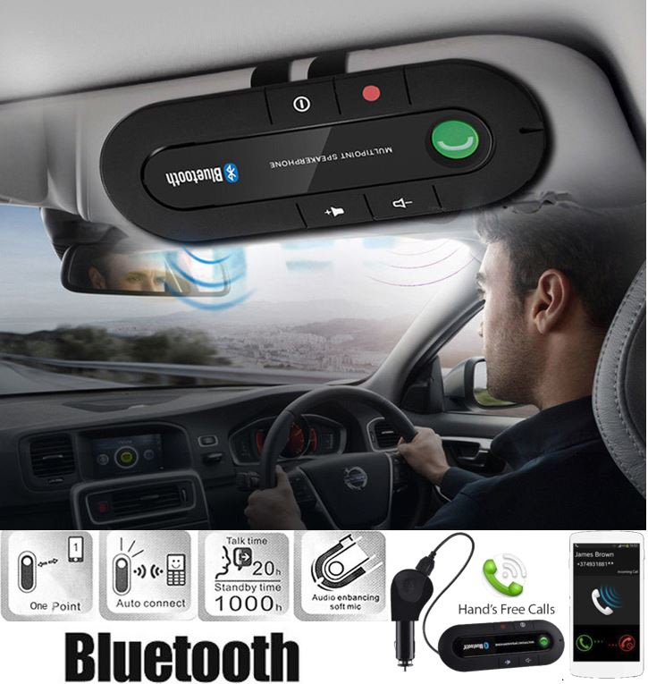 SAVE NOW: HANDS FREE BLUETOOTH CAR KIT SPEAKERPHONE